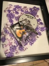 Loretta Lynn Autograph SIGNED CD JSA COA Full Circle DRESS SWATCH