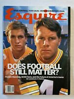 Esquire Magazine September 1997 Peyton Manning, Brett Farve, Football, NO LABEL