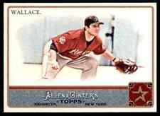 2011 Topps Allen & Ginter Glossy Brett Wallace #/999 Astros #318