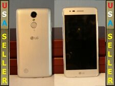 LG Aristo M210 adult owned android 4G LTE 16GB silver unlocked VERY GOOD COND