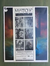 Mystique / A Portfolio By Fred Fields Signed Auto