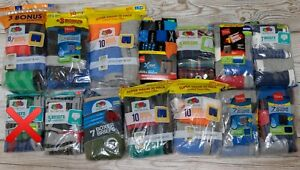 New in Package Underwear Boxer Briefs for Kid's Boy's Hanes / Fruit of the Loom