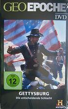 GEO Epoche / DVD / Gettysburg / Die entscheidende Schlacht / History / Neu/OVP