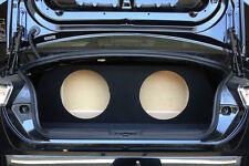 """Subaru BRZ - Custom Sub Enclosure Subwoofer Box - 2 10"""" - Concept Enclosures"""