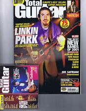 LINKIN PARK / RADIOHEAD / ROLLING STONESTotal Guitar + CDNo.91December2001