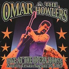 """NEW """"Live at the Opera House"""" Omar & the Howlers (CD 11 Tracks, Phoenix 2000)"""