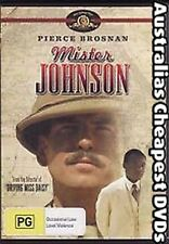 MISTER JOHNSON  DVD NEW, FREE POSTAGE WITHIN AUSTRALIA REGION 4
