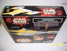 STAR WARS ELECTRONIC NABOO FIGHTER)MISB SUPER NICE BOX!