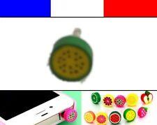 Cache anti-poussière jack universel iphone protection capuchon bouchon FRUIT 5