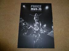 FACES 1969-75 Ronnie Wood Ian McLagan Kenny Jones Genesis Publications Promo