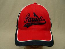 PARADISE RESORT - DOG DAZE - ADJUSTABLE BALL CAP HAT!