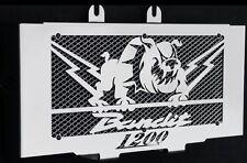 "cache / Grille de radiateur 1200 GSF Bandit 2000>2006 ""Bulldog"" + grilllage alu"
