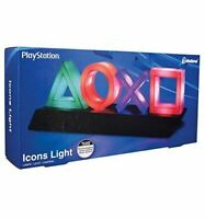 Official Sony Playstation Icons Light Desk Lamp Mood Light *Brand New*