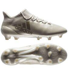 Adidas X 17.1 FG Soccer Shoes Men US 10.5 BNIB Earth Storm - Sesame/Clay New
