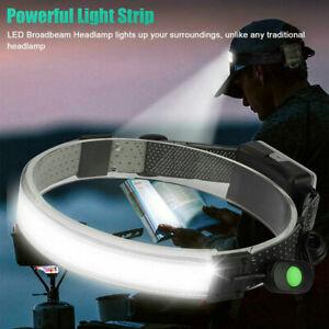 Elastic Head Band 26 LEDs Broad Beam Headlamp For Work Camping Emergency Light