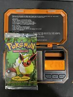 Pokemon Jungle Booster Pack Very HEAVY FLAREON 1999 21.45 grams