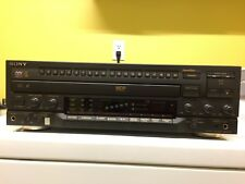 SUPER RARE Sony MDP-K15 LaserDisk System w/ Remote Made in Japan WOW! RARE