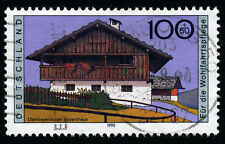 Architecture Used Single German & Colonies Stamps