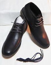 Kenneth Cole Desert Sun Leather Chukka Boot Brown Extra Laces Size 11.5  #3459-Y