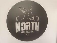 AFL North Melbourne Kangaroos Metal Wall Art Sign Australian Football 500mm