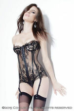 Lace Glamour Suspenders Strap Basques & Corsets for Women