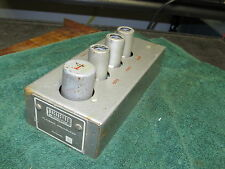 RARE  Vintage Magnasync Tube Playback Preamp P-435    Western Electric Lic.   #1