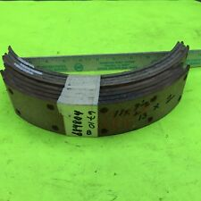 Studebaker brake lining,  684804.   Lot of 8.  Item:  8277