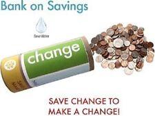 Bank on Savings! tip saver water bank | Change