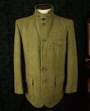 Superb Mens Vintage Norfolk Tweed Hunting Shooting Jacket Coat Size 42 Large