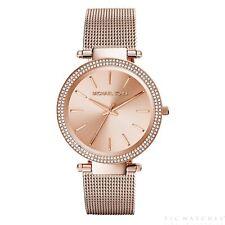 Michael Kors Uhren MK3369 Darci Rose Gold Mesh Damenuhr