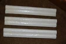 New HOME DEPOT Tile Trim 12 x 2 Porous Cast Stone Crown Edge Cap Chair Rail Deco