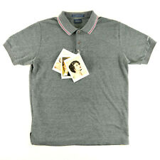 ANDY WARHOL FACTORY X LEVI'S GRAY POLO SHIRT WITH POLAROID TAGS SIZE L NWT NR