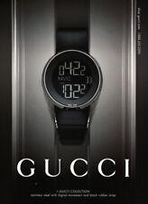 Gucci Watch print ad 2008 - digital