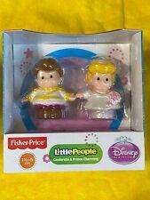 Fisher-Price Little People Disney Princess, Cinderella & Prince Charming NEW !!!