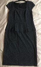 Women's Ladies Peplum Dress Size 14