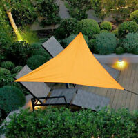 4/6m Triangle Sun Shade Sail Outdoor Garden Patio Canopy UV Block Top Shelter