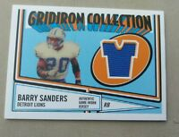 2005 Barry Sanders Gridiron Collection GCR-BS Card
