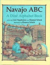 Navajo ABC: A Din Alphabet Book-ExLibrary