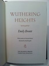 Franklin Library Wuthering Heights Emily Bronte Illustrated Leatherette Edition