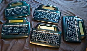 AlphaSmart 3000 Word Processor + Travel Bag