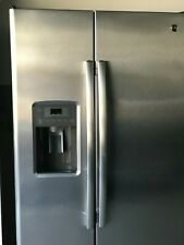 GE Side By Side Stainless Steel Refrigerator, GSE25GSHBCSS