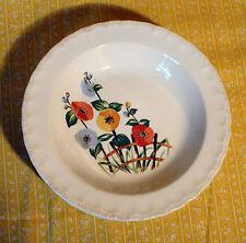 4 Pope Gosser La Fleur Rimmed Soup Bowls
