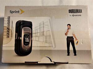1 New Kyocera DuraMax E4255 - Black Sprint Cellular Phone Free Priority