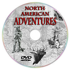 NORTH AMERICAN ADVENTURES HUNTING EXPLORERS OUTLAWS ELK GRIZZLY DEER FOWL DVD