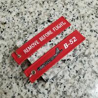 B-52 Stratofortress BUFF Bomber Remove Before Flight ® Keychain, Tag, Streamer!