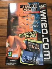 WWE WWF STONE COLD STEVE AUSTIN INTERNET FIGURE WIRED.COM SEALED BOX