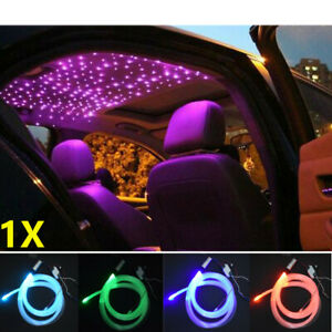 12V Audio Fiber Optic Star Light Set Decorate Car Headliner Roof Ceiling Light