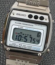 NOS New Seiko A639-5060 Quartz 32,8 MM Digital Japan Chronograph Vintage