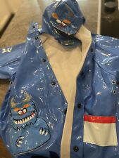 Western Chief Boys Rain Coat/Jacket Size 4T Monster
