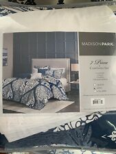 Madison Park Laurel 7 Piece Comforter Set -  King